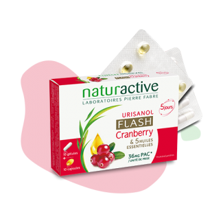 Urisanol flash - Naturactive